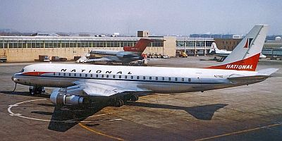 DC8 - National Airlines