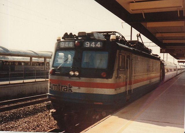 A Novermber 1989 trip on Amtrak's Silver Meteor, Palmetto, Northeast regionals and Silver Star.