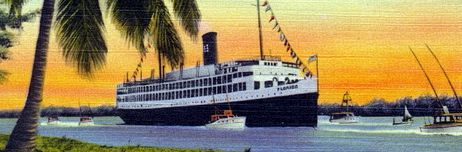 ss Florida arriving in Miami from Havana